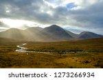scottish landscape with... | Shutterstock . vector #1273266934