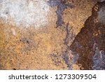 rust on old wall background    Shutterstock . vector #1273309504