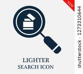 lighter search icon. editable...   Shutterstock .eps vector #1273310644