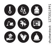 9 vector icon set   hard water  ... | Shutterstock .eps vector #1273311991