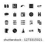 vector illustration of 20 icons.... | Shutterstock .eps vector #1273315321