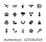 vector illustration of 20 icons.... | Shutterstock .eps vector #1273362514