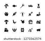 vector illustration of 20 icons.... | Shutterstock .eps vector #1273362574