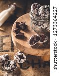 chocolate crinkle for easter | Shutterstock . vector #1273364227