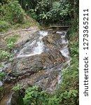 waterfall at mae kampong temple ... | Shutterstock . vector #1273365211