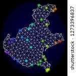 mesh vector map of veneto... | Shutterstock .eps vector #1273396837