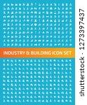 industry vector icon set | Shutterstock .eps vector #1273397437