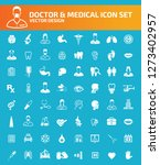 doctor and medical vector icon... | Shutterstock .eps vector #1273402957