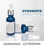moisturizing serum for dry skin ... | Shutterstock .eps vector #1273424344