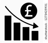 outline sterling recession... | Shutterstock .eps vector #1273425931