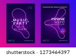 trance event. creative show... | Shutterstock .eps vector #1273464397