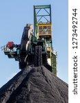 stacker reclaimer in a coal... | Shutterstock . vector #1273492744