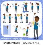 a set of school boy on... | Shutterstock .eps vector #1273576711