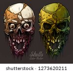 detailed graphic realistic cool ... | Shutterstock .eps vector #1273620211
