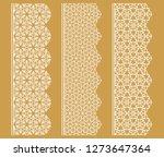 vector set of line borders with ...   Shutterstock .eps vector #1273647364