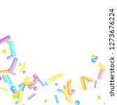 sprinkles grainy. sweet...   Shutterstock .eps vector #1273676224