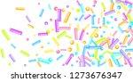 sprinkles grainy. sweet...   Shutterstock .eps vector #1273676347