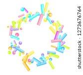 sprinkles grainy. sweet...   Shutterstock .eps vector #1273676764