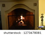 nice  and dark chimney with... | Shutterstock . vector #1273678081