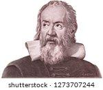galileo galilei on italy money...   Shutterstock . vector #1273707244