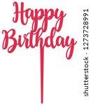 Happy Birthday Cake Topper...
