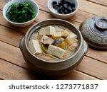 korean food soybean paste stew  ... | Shutterstock . vector #1273771837