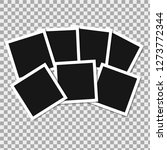 set of square vector photo... | Shutterstock .eps vector #1273772344