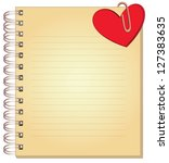 happy valentine's day | Shutterstock .eps vector #127383635