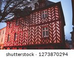 rennes.  city of brittany.... | Shutterstock . vector #1273870294