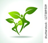 vector collection of ecological ... | Shutterstock .eps vector #127389509