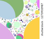 multicolored geometric circle... | Shutterstock . vector #1273933987