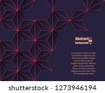 abstract modern background with ... | Shutterstock .eps vector #1273946194