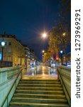 paris france by night | Shutterstock . vector #1273969291