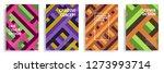 modern cover design template... | Shutterstock .eps vector #1273993714