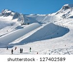 Ski Resort Of Kaprun ...