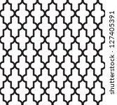 seamless geometric patter  ... | Shutterstock .eps vector #127405391