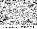 vector grunge overlay texture.... | Shutterstock .eps vector #1274059894