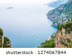 view of amalfi coast along the... | Shutterstock . vector #1274067844