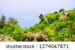 view of amalfi coast along the... | Shutterstock . vector #1274067871