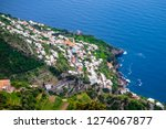 view of amalfi coast along the... | Shutterstock . vector #1274067877