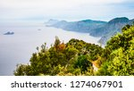 view of amalfi coast along the...   Shutterstock . vector #1274067901