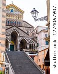 stairs of amalfi cathedral ...   Shutterstock . vector #1274067907