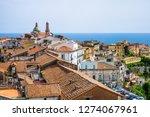view of vietri sul mare city in ...   Shutterstock . vector #1274067961