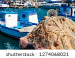 fishermans boat at the cost of...   Shutterstock . vector #1274068021
