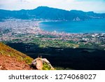 view of naples city in italy...   Shutterstock . vector #1274068027