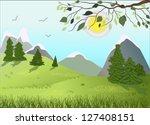 spring | Shutterstock .eps vector #127408151
