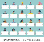 colorful vector illustration in ... | Shutterstock .eps vector #1274112181