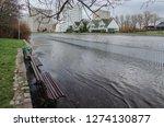 river and city    sunken...   Shutterstock . vector #1274130877