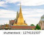 temple of emerald buddha grand... | Shutterstock . vector #1274131537