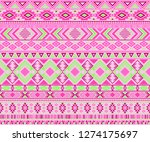 navajo american indian pattern... | Shutterstock .eps vector #1274175697